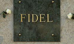 The tomb of Fidel Castro