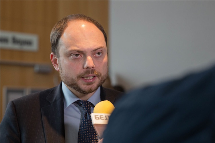 Vladimir Kara-Murza at the Open Russia founding congress in Tallinn. Photo: Anastasia Khodorkovskaya.
